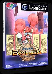 神機世界エヴォルシア GameCube cover (GEVJ0M)