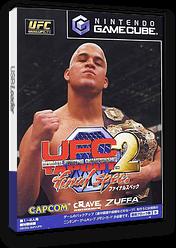 UFC2 Tapout ファイナル スペック GameCube cover (GUFJ08)