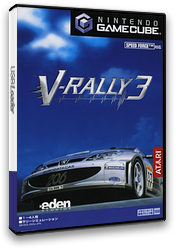 V-Rally 3 GameCube cover (GV3J70)