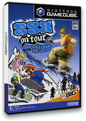 SSX On Tour with マリオ GameCube cover (GXOJ13)