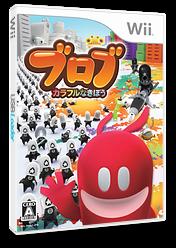 ブロブ カラフルなきぼう Wii cover (R6BJ78)
