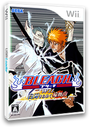 BLEACH Wii 白刃きらめく輪舞曲 Wii cover (RBLJ8P)