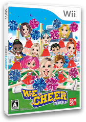 WE CHEER ~ウィーチア~ Wii cover (RCHJAF)