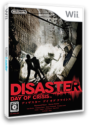 ディザスター デイ オブ クライシス Wii cover (RDZJ01)
