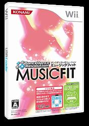ダンスダンスレボリューション ミュージックフィット Wii cover (RJRJA4)