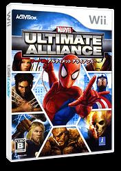 マーベル アルティメット アライアンス Wii cover (RMUJ2K)