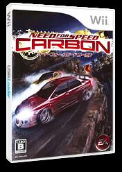ニード・フォー・スピード カーボン Wii cover (RNSJ13)