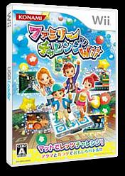 ファミリーチャレンジWii Wii cover (RR3JA4)