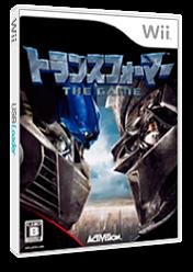 トランスフォーマー THE GAME Wii cover (RTFJ52)