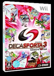 デカスポルタ3 Wii cover (S3DJ18)
