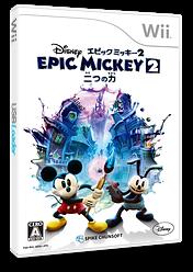 ディズニー エピックミッキー2:二つの力 Wii cover (SERJ91)