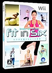 フィット・イン・シックス カラダを鍛える6つの要素 Wii cover (SF5J41)