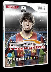 ウイニングイレブン プレーメーカー 2011 Wii cover (SW4JA4)