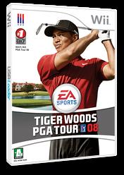 타이거 우즈 PGA Tour 08 Wii cover (RT8K69)