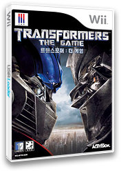 트랜스포머: 더 게임 Wii cover (RTFK52)