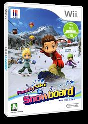 패밀리 스키 & 스노보드 Wii cover (RYKK01)