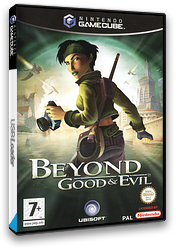 Beyond Good And Evil GameCube cover (GGEY41)