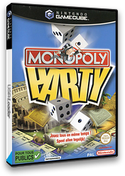 Monopoly Party GameCube cover (GMQP70)