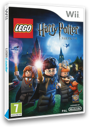 LEGO Harry Potter: Jaren 1-4 Wii cover (R25PWR)