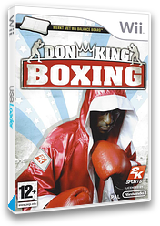 Don King Boxing Wii cover (R2KP54)