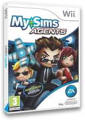 MySims Agents Wii cover (R5XP69)