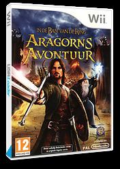 In de Ban van de Ring: Aragorn's Avontuur Wii cover (R8JPWR)