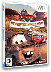 Cars: De Internationale Race van Takel Wii cover (RC2X78)