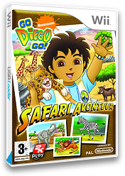 Go, Diego, Go! Safari Avontuur Wii cover (REQX54)