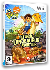 Go, Diego, Go! Het Grote Dinosaurus Avontuur Wii cover (RIGP54)