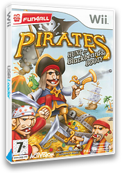 Pirates: Hunt for Blackbeard's Booty Wii cover (RP7P52)