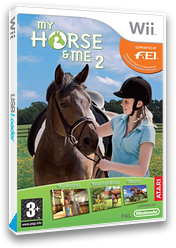 My Horse & Me 2 Wii cover (RX2P70)