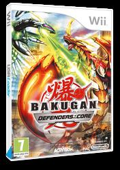 Bakugan Battle Brawlers: Defenders of the Core Wii cover (SB6P52)