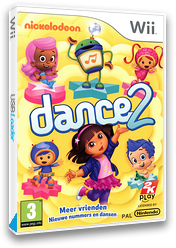 Nickelodeon Dance 2 Wii cover (SU2X54)