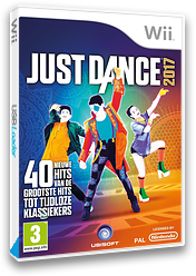 Just Dance 2017 Wii cover (SZ7P41)