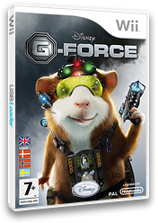 G-Force Wii cover (RUEY4Q)