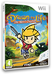Drawn to Life: The Next Chapter Wii cover (R9DP78)
