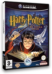Harry Potter och De vises GameCube cover (GHLX69)