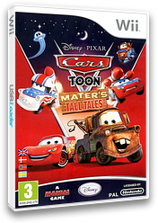 Cars Toon:Mater's Tall Tales Wii cover (STOP4Q)