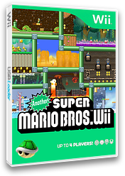 Another Super Mario Bros. Wii CUSTOM cover (ASMB01)