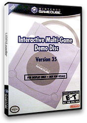 Interactive Multi-Game Demo Disc - Version 35 GameCube cover (D56E01)