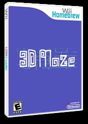 3D Maze Homebrew cover (D63A)