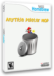 Anytitle Deleter Mod Homebrew cover (D6FA)