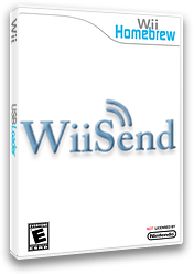 WiiSend Homebrew cover (D8CA)