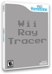Wiiraytracer Homebrew cover (D93A)