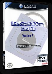 Interactive Multi-Game Demo Disc - Version 7 GameCube cover (D93E01)