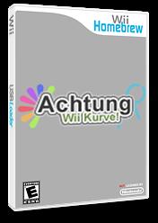 Achtung Wii Kurve Homebrew cover (DA9A)