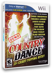 Country Dance (Demo) Wii cover (DAUEPZ)