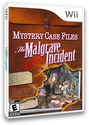 Mystery Case Files: The Malgrave Incident (Demo) Wii cover (DAVE01)