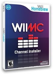 WiiMC Channel Installer Homebrew cover (DCWA)