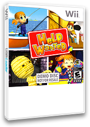 Help Wanted: 50 Wacky Jobs (Demo) Wii cover (DHKE18)